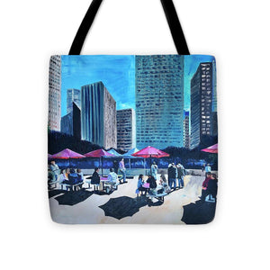 Lunch with Titans - Tote Bag