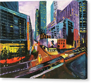 Main And Walker - Canvas Print