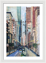 Load image into Gallery viewer, Main Street Flock - Framed Print
