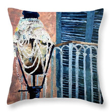 Load image into Gallery viewer, Marti Gras Aftermath - Throw Pillow