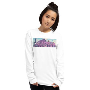 Purple Pour Long Sleeve Shirt