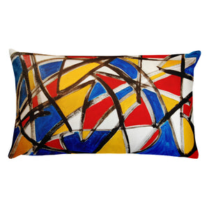 Primary Colors Pillow