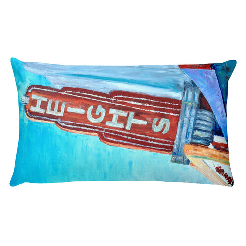 Heights Marquee Rectangular Pillow