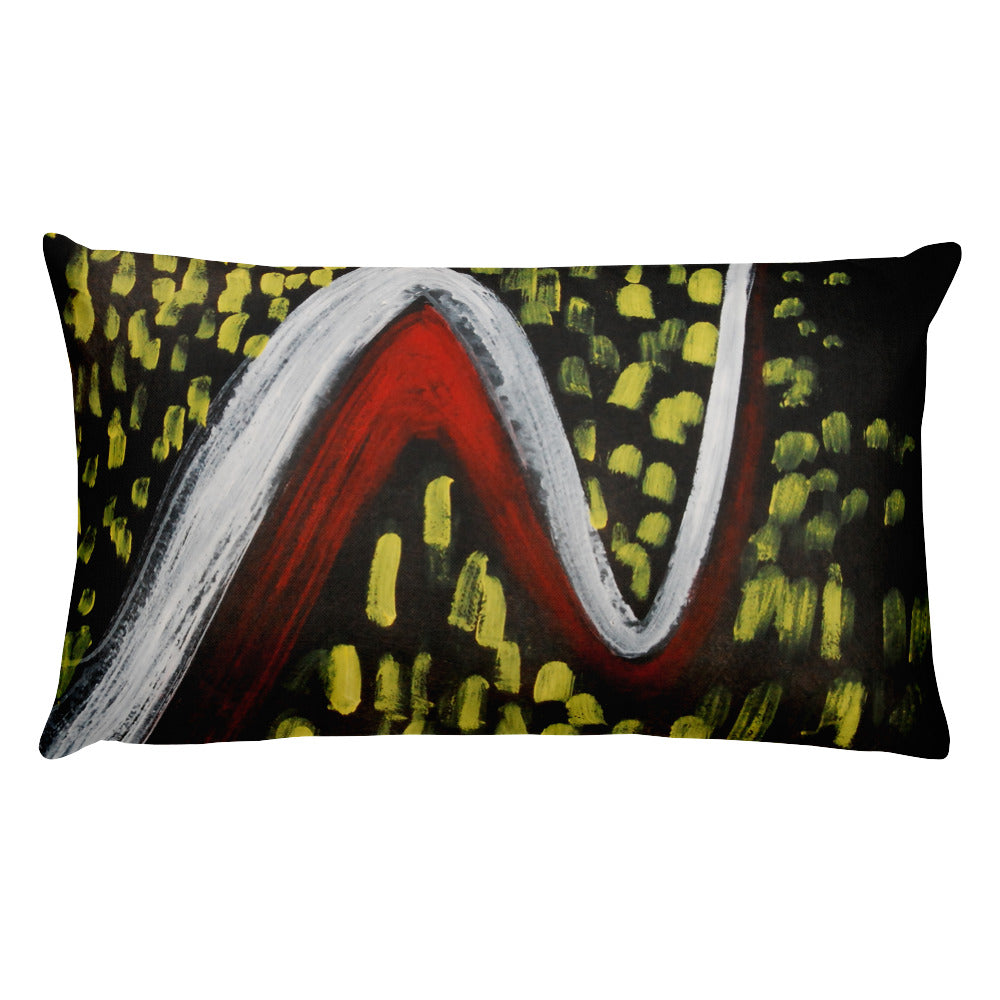 Night Traffic Pillow