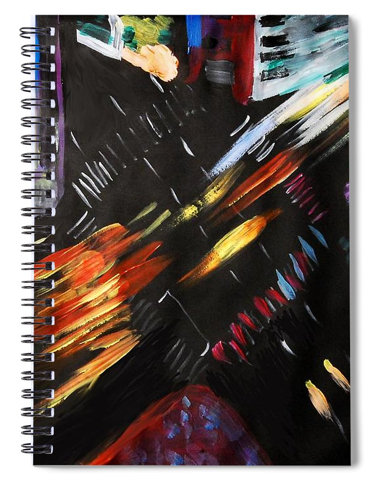 NightCross - Spiral Notebook