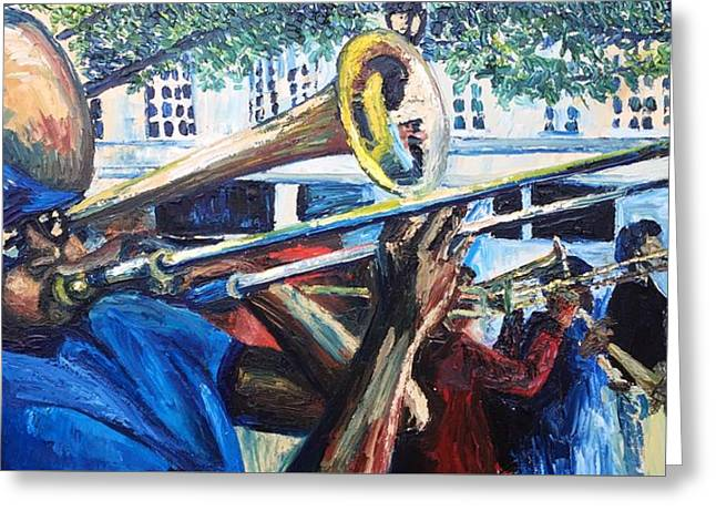 NOLA Brass - Greeting Card