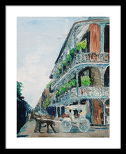Load image into Gallery viewer, NOLA Carriage Ride - Framed Print
