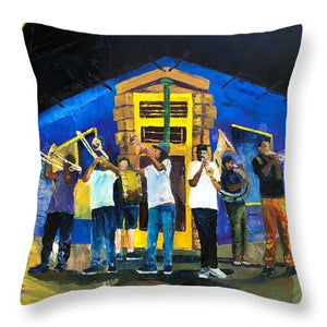 Party On Frenchmen - Throw Pillow