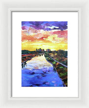 Load image into Gallery viewer, Perspectives of the City - Framed Print