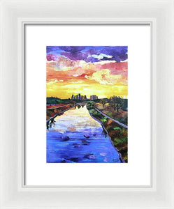 Perspectives of the City - Framed Print