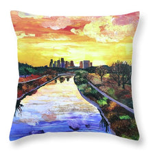 Load image into Gallery viewer, Perspectives of the City - Throw Pillow