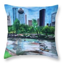 Load image into Gallery viewer, Pon de River - Throw Pillow