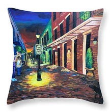Load image into Gallery viewer, Rangee de Musiciens  Musicians Row - Throw Pillow