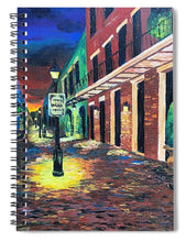 Load image into Gallery viewer, Rangee de Musiciens  Musicians Row - Spiral Notebook