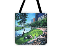 Load image into Gallery viewer, Riverwalk  - Tote Bag