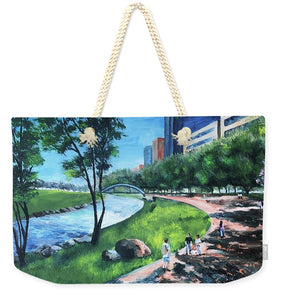 Riverwalk  - Weekender Tote Bag