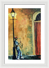 Load image into Gallery viewer, Sax In The City - Framed Print