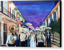 Load image into Gallery viewer, Second Line - Canvas Print