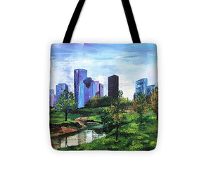 The City's Oasis - Tote Bag