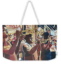 Load image into Gallery viewer, That NOLA Sound - Weekender Tote Bag
