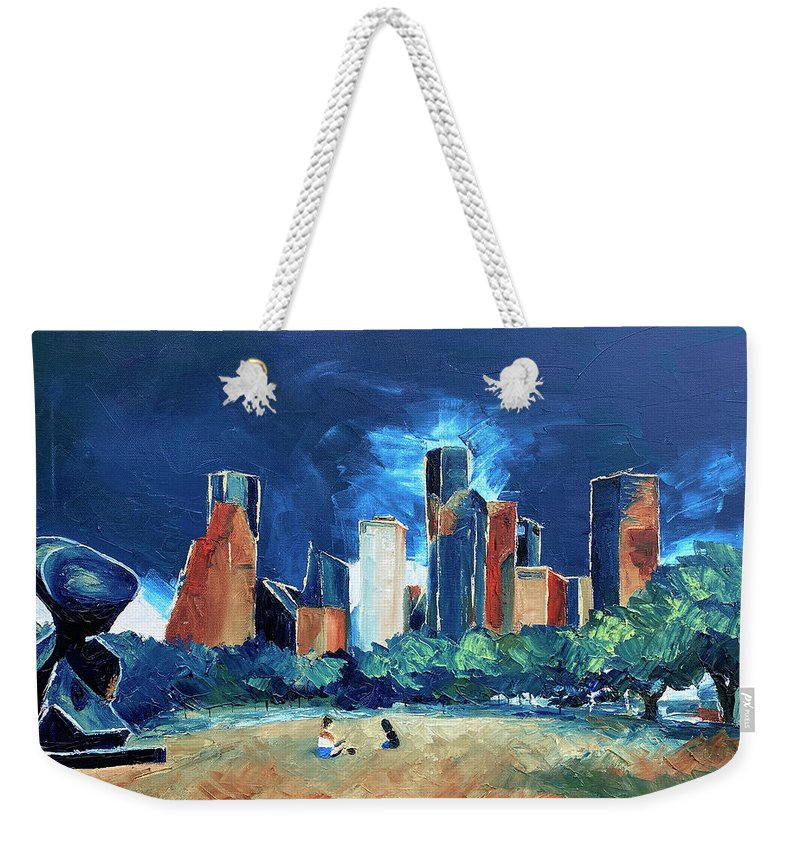 The Spindle at Buffalo Bayou - Weekender Tote Bag