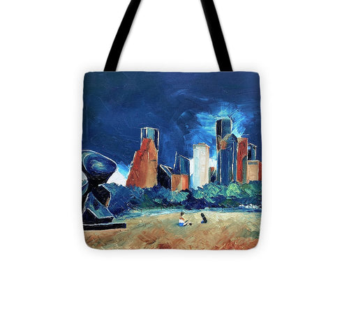 The Spindle at Buffalo Bayou - Tote Bag