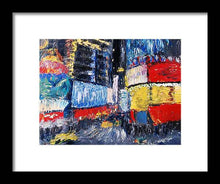 Load image into Gallery viewer, Times Square Abstracted - Framed Print