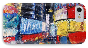 Times Square Abstracted - Phone Case