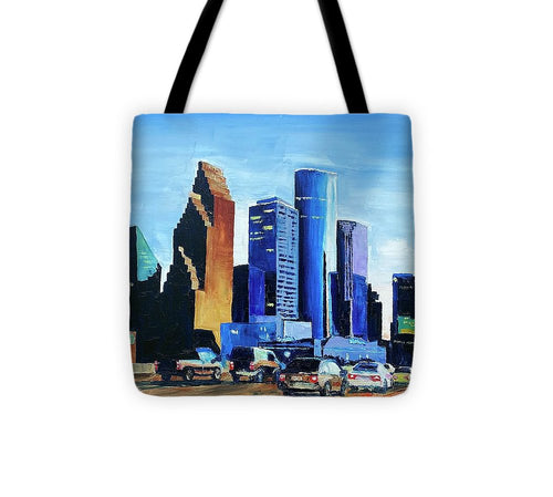 Twilight Commute - Tote Bag