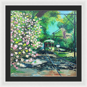 Uptown Bound - Framed Print