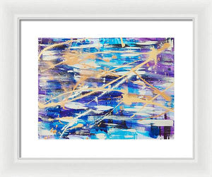 Urban Footprint - Framed Print