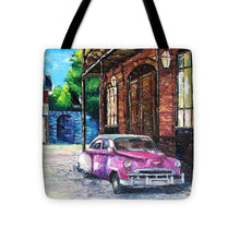 Load image into Gallery viewer, Voiture dans les Quartiers Car in the Quarters - Tote Bag