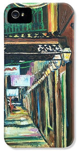 Walk With Me Down Rue Bienville - Phone Case