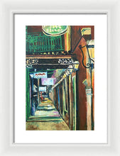 Load image into Gallery viewer, Walk With Me Down Rue Bienville - Framed Print
