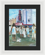 Load image into Gallery viewer, White Linen Night - Framed Print