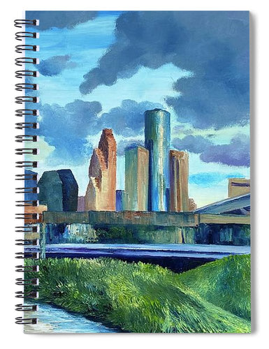 White Oak Bayou - Spiral Notebook