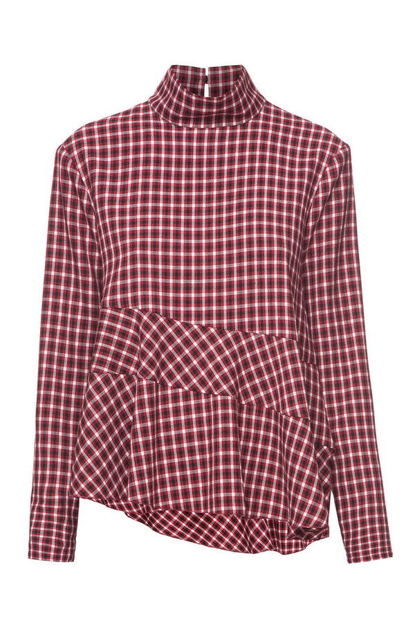 Tartan red top