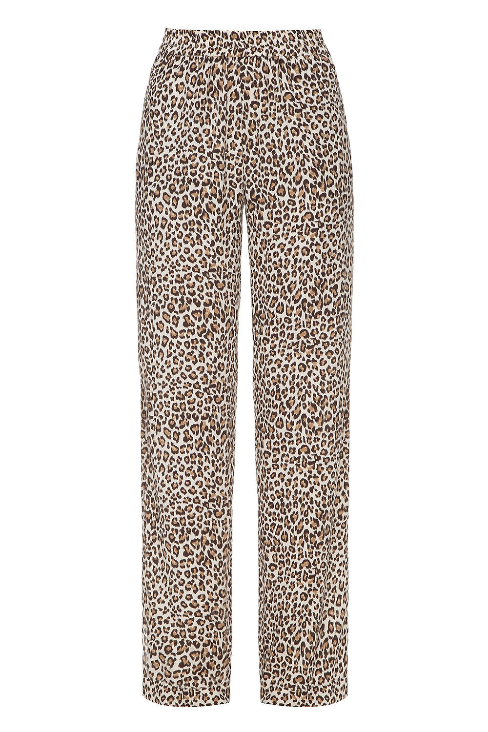 Leopard printed trousers