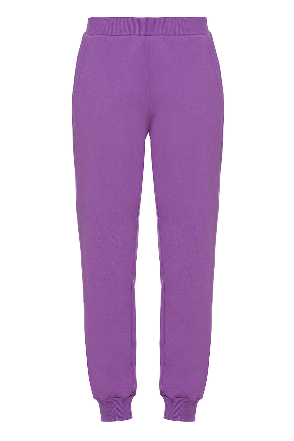 Purple sweatpants