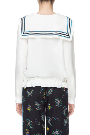 White sailor bomber