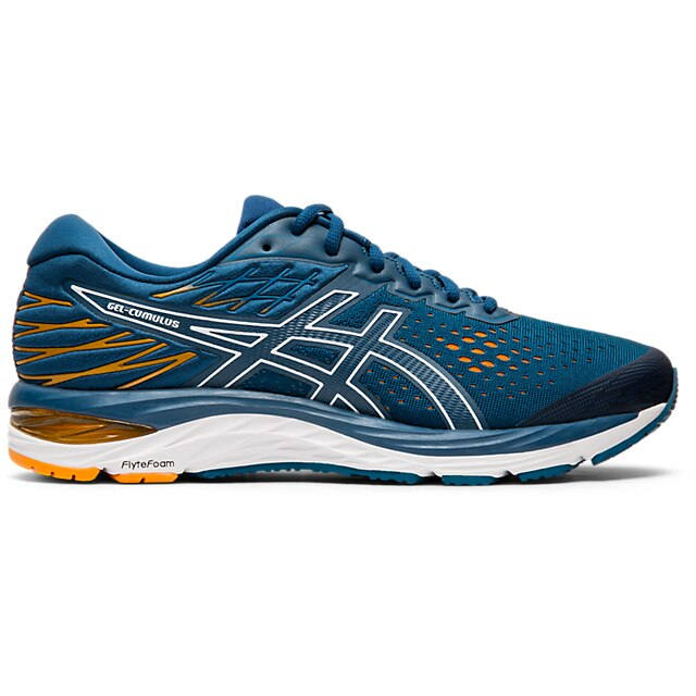 Asics Men's Cumulus 21, Black/White, 10mm Drop, Running Neutral Road Moderate Cushion