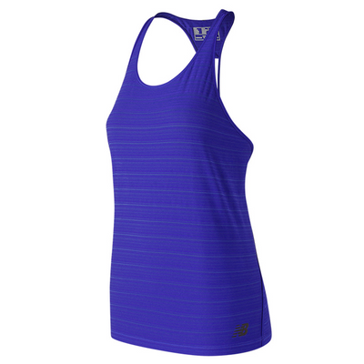 New Balance Women's Q Speed Striped Tank