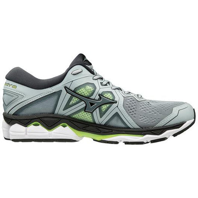 Mizuno Men's Sky 2, Quarry/Stormy Weather, 10mm Drop, Running Neutral Road High Cushion