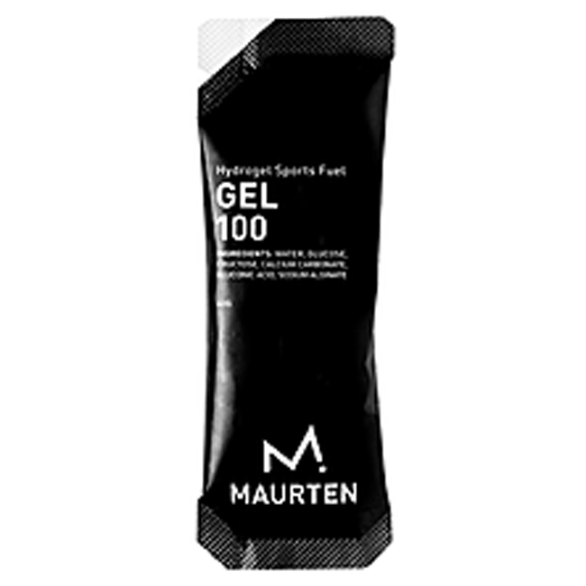 Maurten Gel 100, Natural Hydrogel, 25g Carbohydrates Per Serving