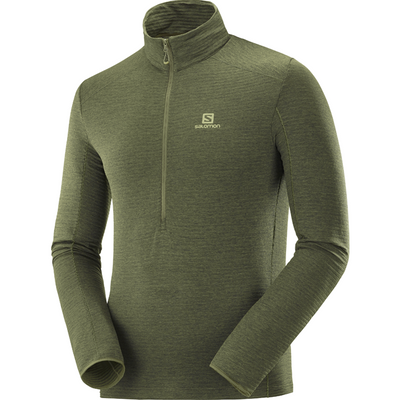 Salomon Men's Outline Half Zip Mid