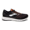 Brooks Men's Glycerin 16, Black/Orange, 10mm Drop, Running Neutral High Cushion