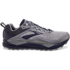 110310 Brooks Men's Cascadia 14, Grey/Navy, 8mm Drop, Trail Neutral