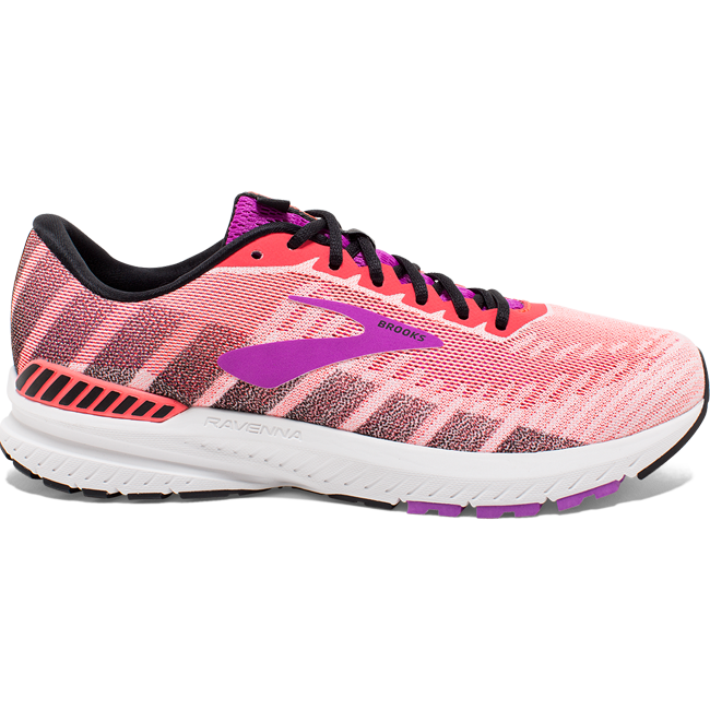 Brook's Women's Ravenna 10, Pink, 10mm drop, Running Road Stability