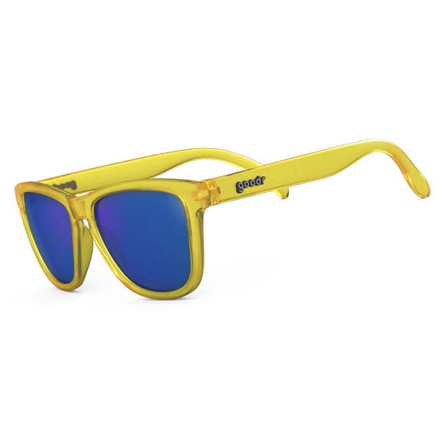 Goodr OG Sunglasses, Donkey Goggles, No Bounce, No Slip, Polarized