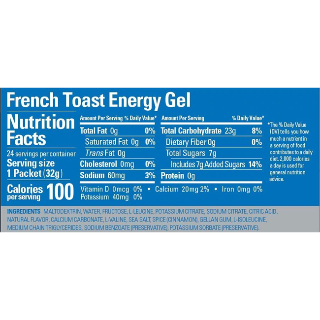 GU French Toast Gel